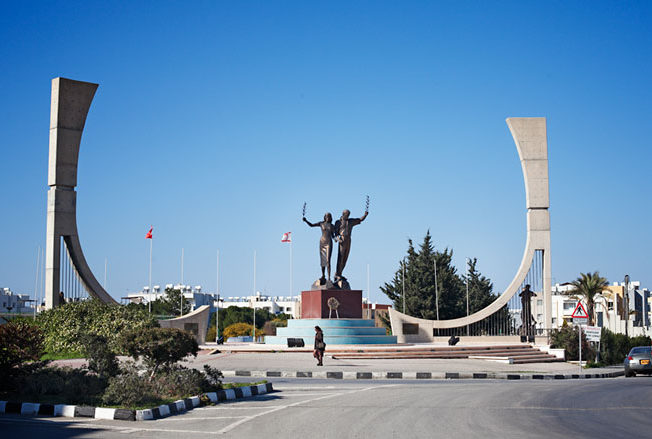 north-cyprus-monument-new-harbour-roundabout