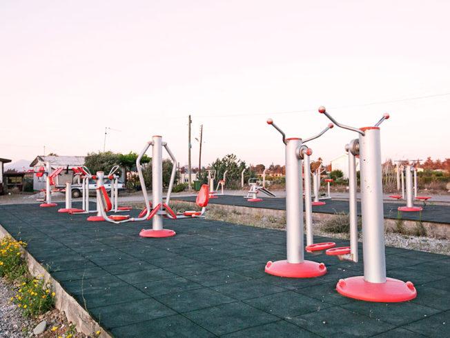 utomhus_gym_maskiner_norra_cypern