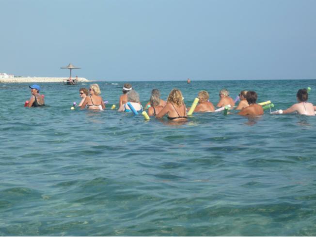 vatten_gympa_traning_havet_norra_cypern