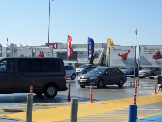 ikea_parkering_med_svensk_flagga_syd_norra_cypern_north_cyprus