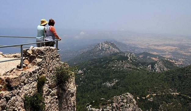 hiking in the mountains of Cyprus