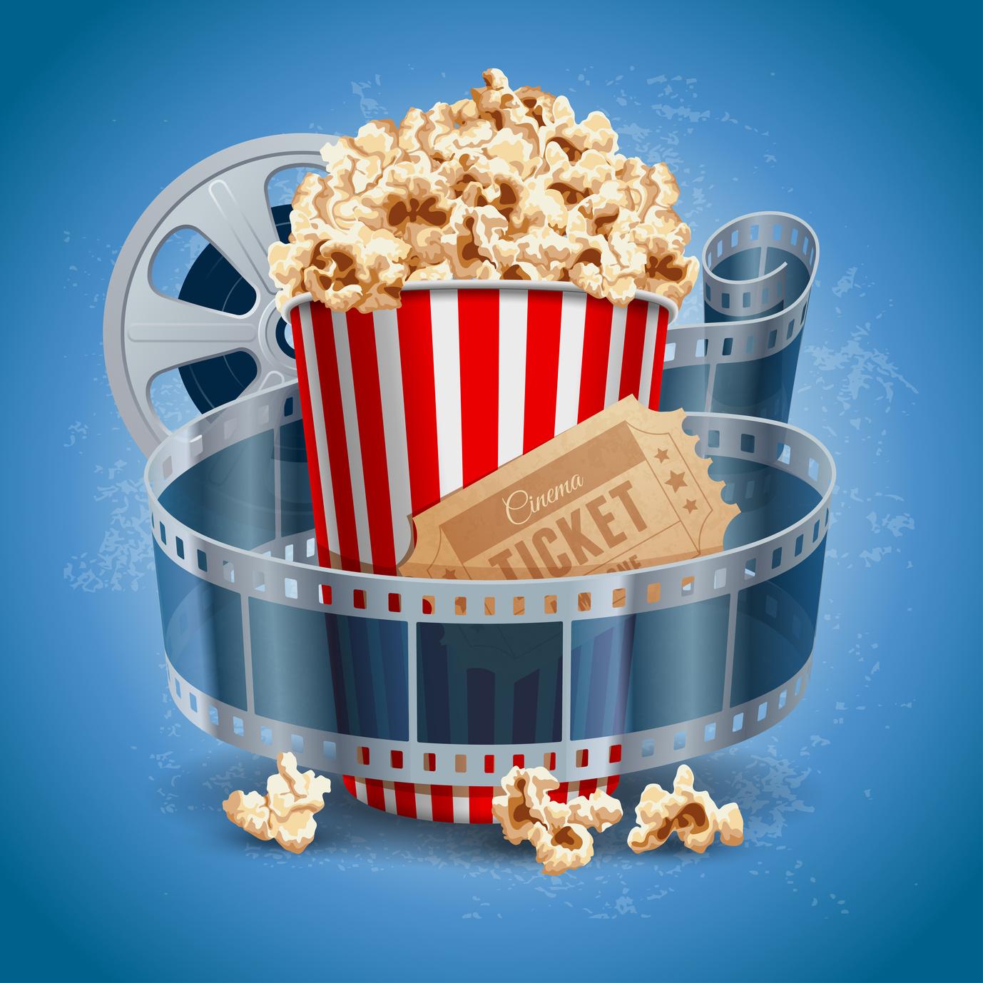 Popcorn movie posters