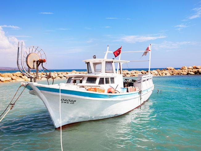 north-cyprus-fishing-boat-on-the-sea