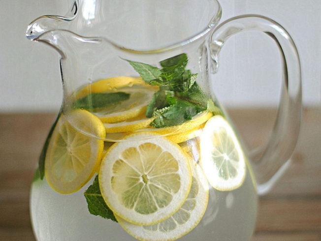 lemon-mint-water