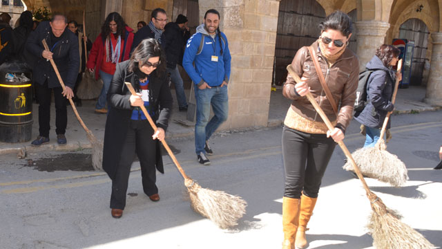 KITREB-bukuk-han-cleaning-sweeping-for-tourism-north-cyprus
