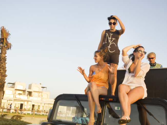 north-cyprus-2015-girls-on-car