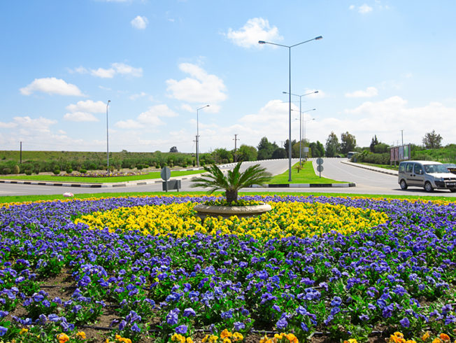 north-cyprus-2015-roundabout-colourful-nicosia