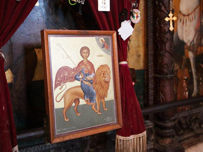 north-cyprus-St-Mamas-monastery-guzelyurt-lion-lamb