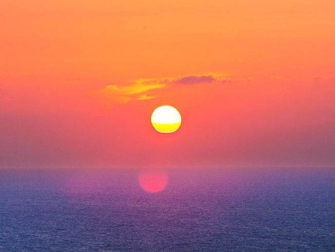 beautiful-sunset-over-north-cyprus