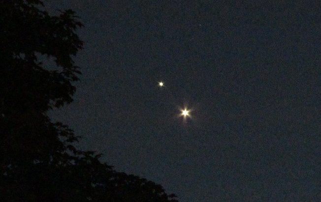 Jupiter-Venus-planet-conjunction
