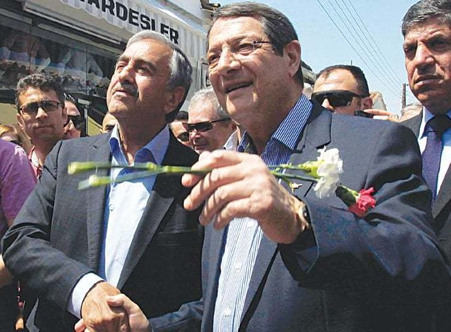 President-Anastasiades-and-president-mustafa-akinci-in-old-town-lefkosa