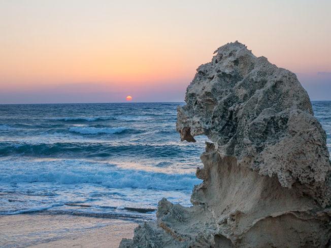 north-cyprus-rocks-beach-esentepe-sunset