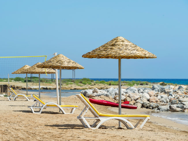 sun-beach-sunbeds-north-cyprus-bafra