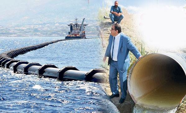 Project of the Century is water pipelines