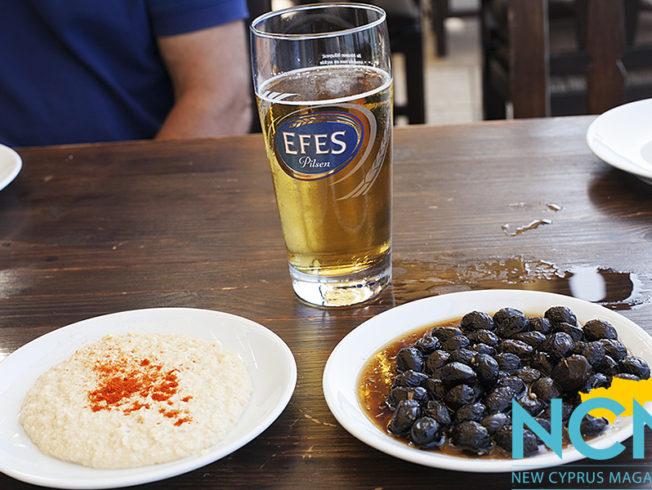 north-cyprus-2015-hummus-olives-beer