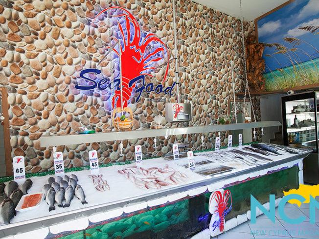 north-cyprus-Sea-Food-Market