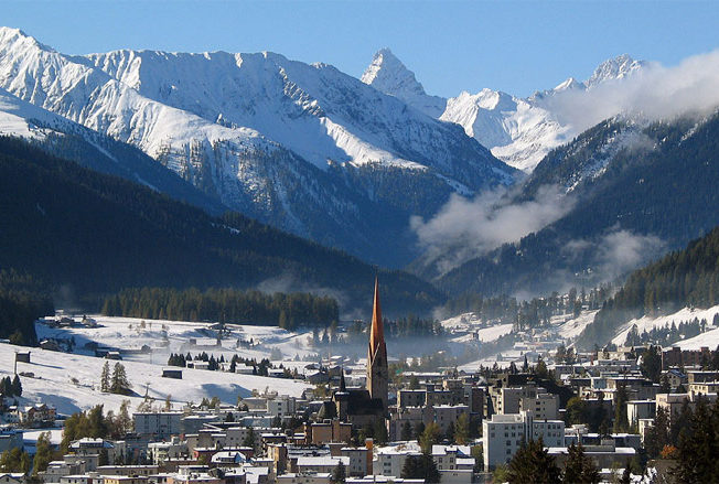 Davos in Switzerland