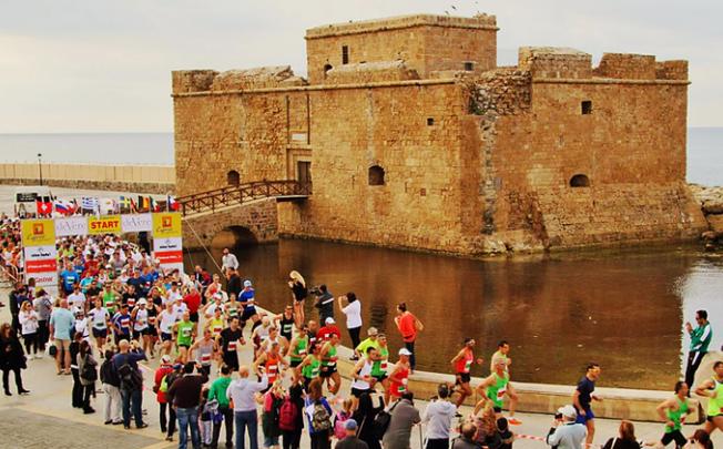 Eighteenth-Logicom-Cyprus-Marathon-Paphos-castle