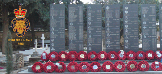 The Royal British Legion Kyrenia Branch 2