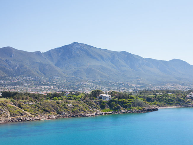 north cyprus coastline