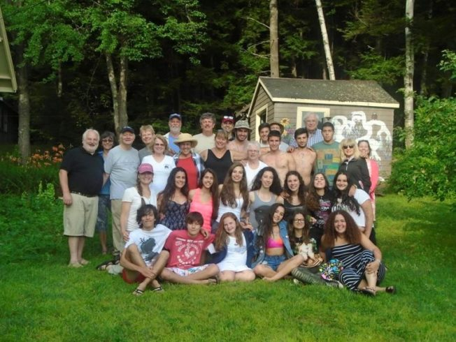 Bi-communal teen friendship group