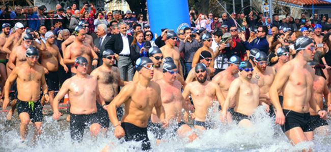 10th Winter Sea Swimming Marathon