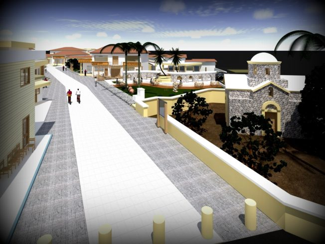İskele new town centre