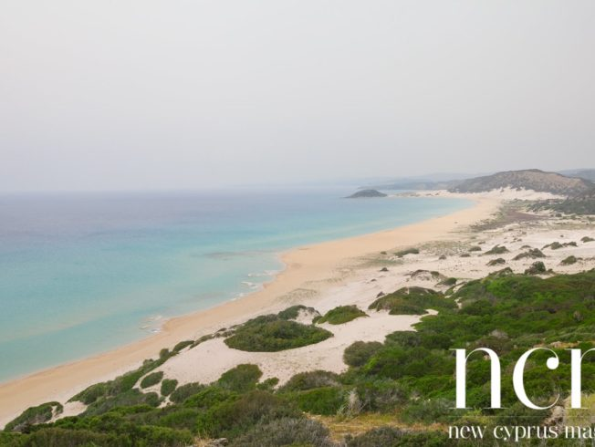 Karpaz coast in North Cyprus