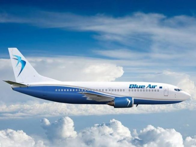 Blue Air flights from Larnaca