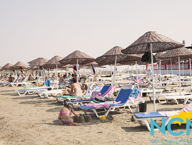 Beach in Famagusta