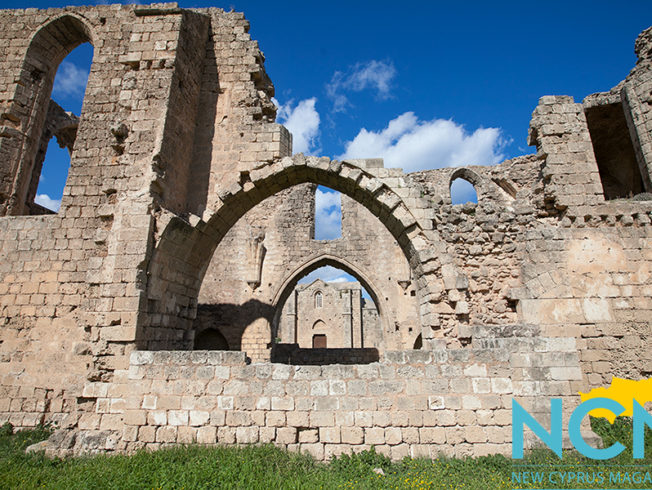 Ancient building in North Cyprus
