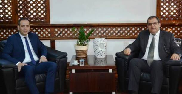Mehmet Harmanci with Faiz Sucuoglu