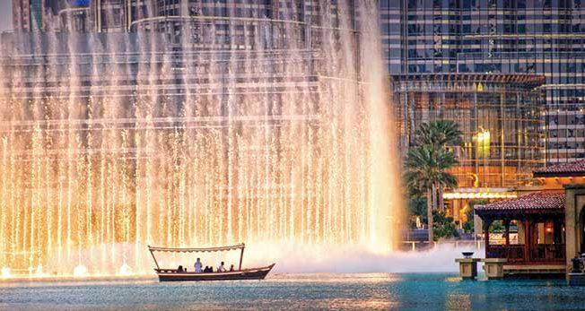 Night time in Dubai