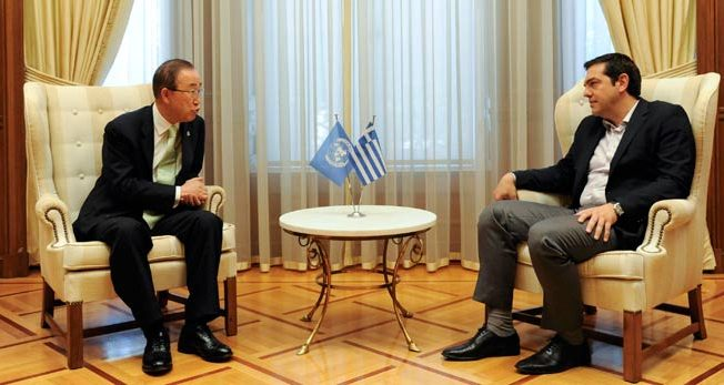 Ban supports Cyprus solution in 2016