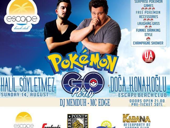 Pokémon Go Party at Escape Beach north cyprus