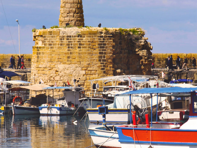 Tower in Kyrenia harbour