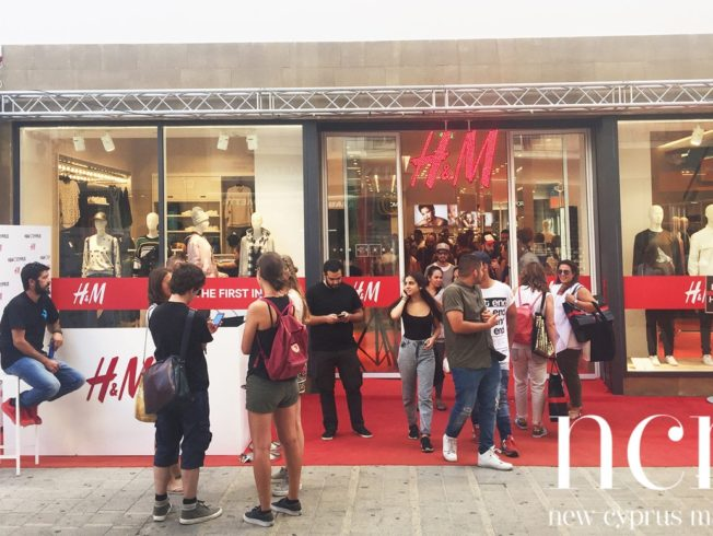 H&M, opens in Cyprus