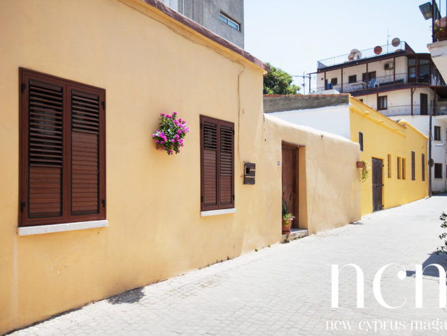 Kyrenia yellow wall