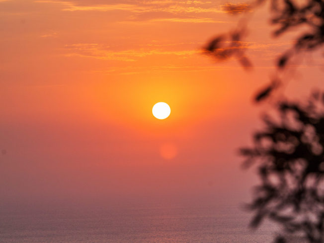 Sunset in North Cyprus