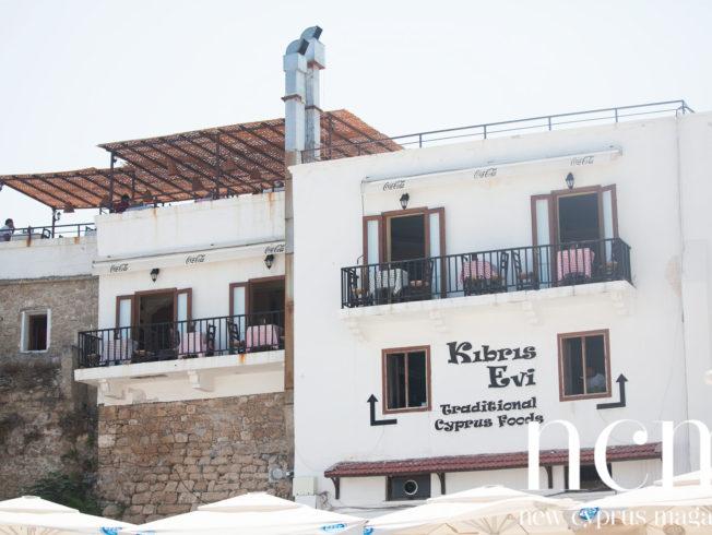 Kibris Evi in kyrenia harbour