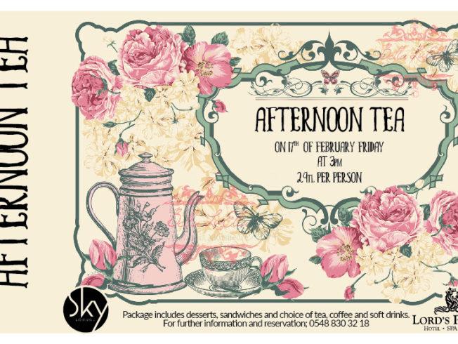 Afternoon Tea at Sky Lounge & Bar