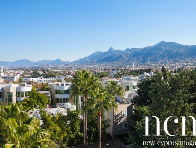Bird's view over Kyrenia