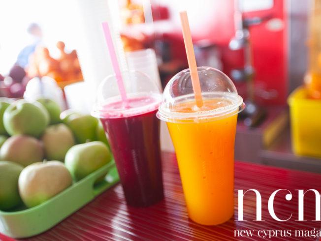 Delicious juices served in Kyrenia