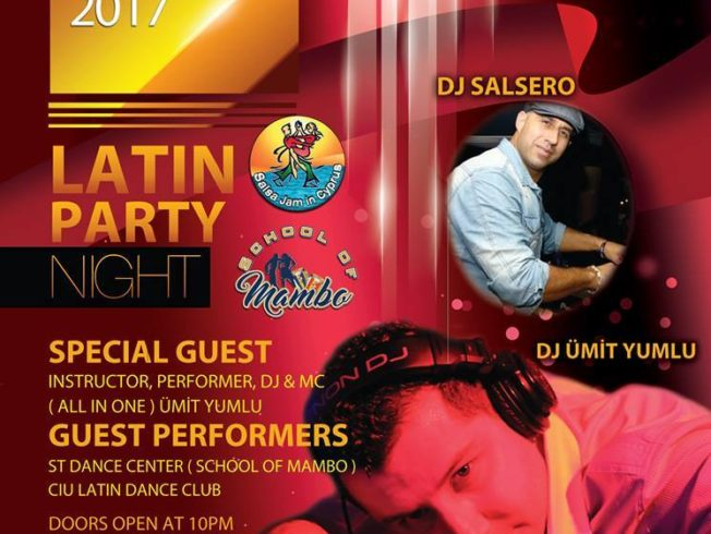 Latin Party Night Salamis
