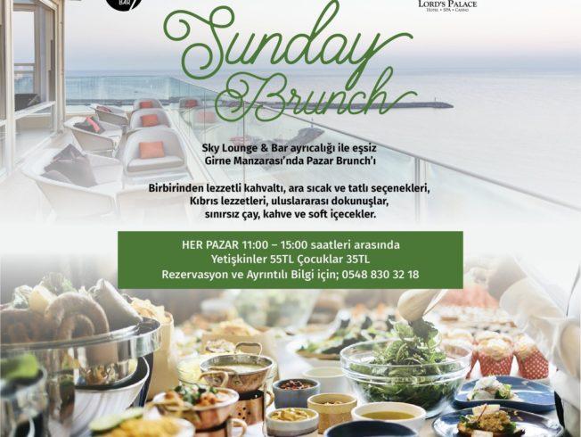 Sunday Brunch at Sky Lounge & Bar