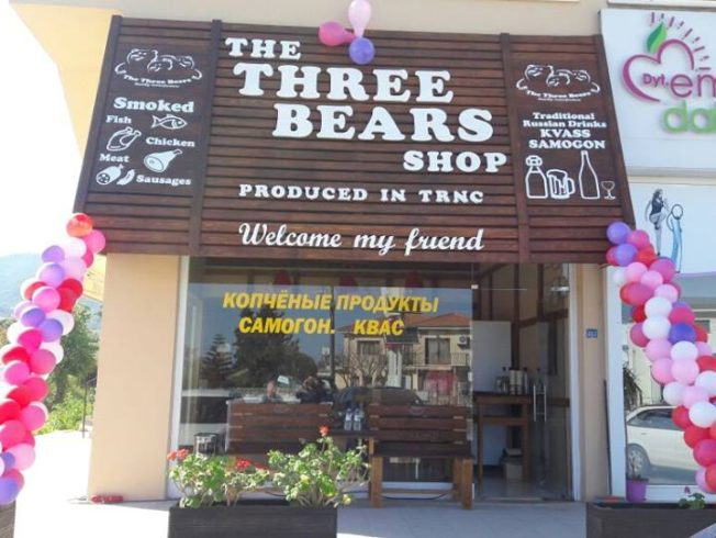 Grand opening Three Bears in Alsancak