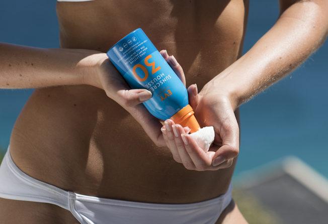EVY revolutionary sunscreen