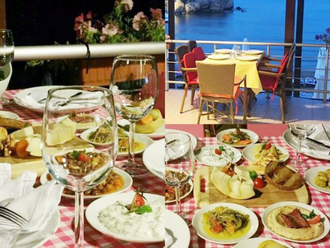 Escape to Dining by the sea