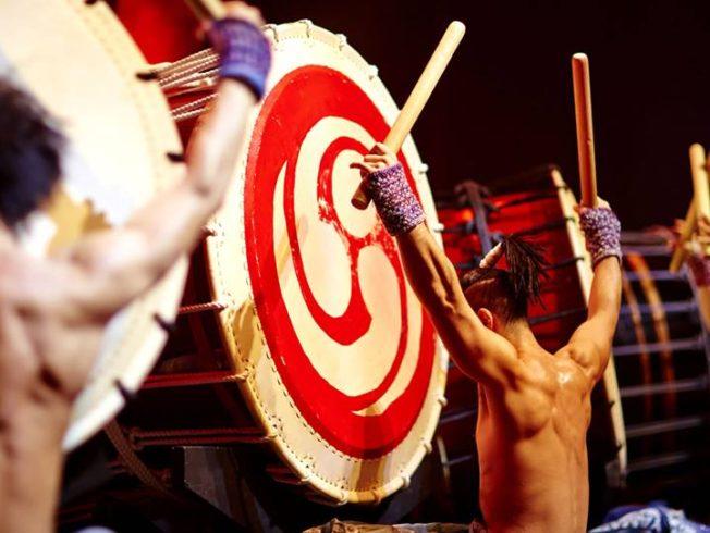 Japanese drum ensemble