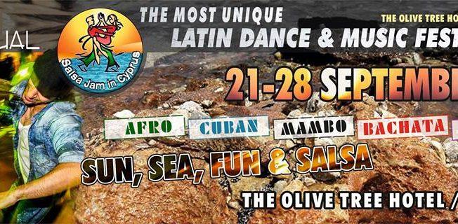 New venue 12th Salsa Jam Cyprus